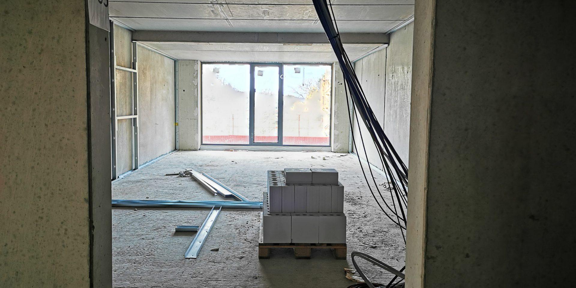 Kabelsalat auf der Baustelle