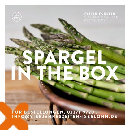 Spargel in the Box Karte